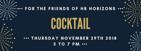 Cocktail for the friends of HR Horizons